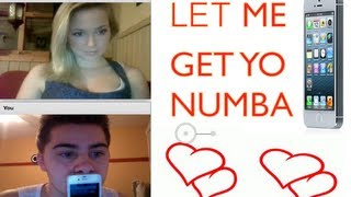 What's Your Number? [Chatroulette Experience]