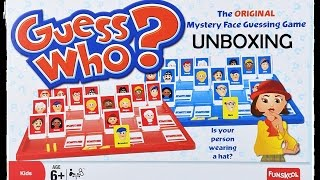 Unboxing Guess Who! | Board Game