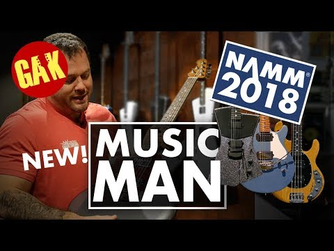 NAMM 2018 | NEW Music Man Guitars