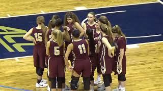 WPIAL Girls Basketball Class 2A Championship - Chartiers-Houston vs Vincentian Academy