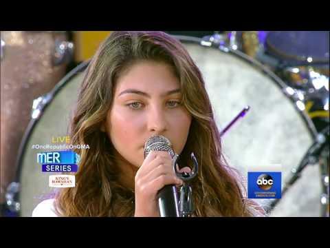 Toni Cornell sings 'Hallelujah' in Chris Cornell Tribute on ABC's Good Morning America