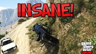 Gta 5 - most insane police chase! live!