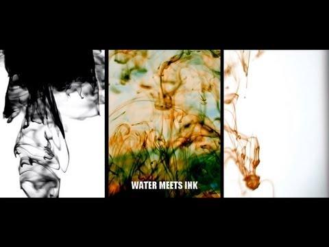 Ink Meets Water - Vortex