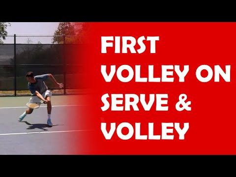 First Volley | SERVE AND VOLLEY