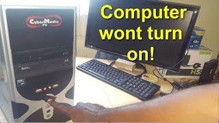 My Computer wont turn on Fix