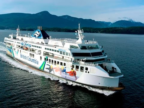 Vancouver - Nanaimo (Tsawwassen-Duke Point) Semi Truck Delivery to Vancouver Island
