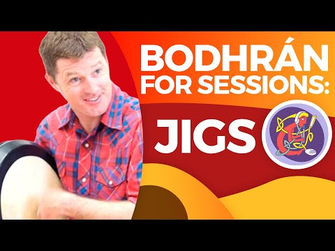 'Top End' Bodhran Lesson: Jig Beats (2018)