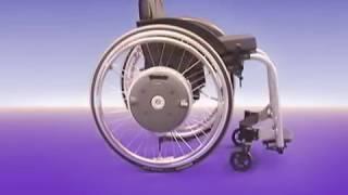 Alber e-motion - kraftvoller Zusatzantrieb für manuelle Rollstühle