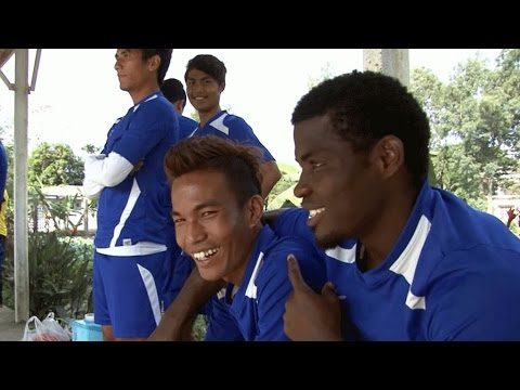 Video: African football players dream of kickstarting career in Asia