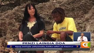 Ajuza Raia Wa Sweden adai kutapeliwa na mpenziwe kijana huko Diani
