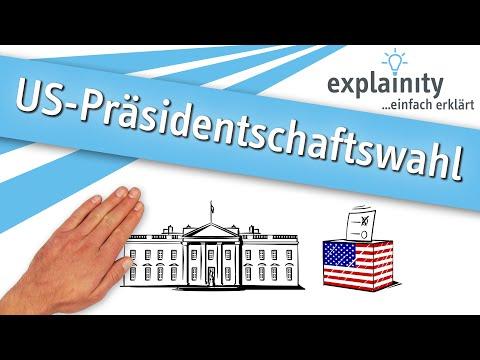 Die US-Präsidentschaftswahl einfach