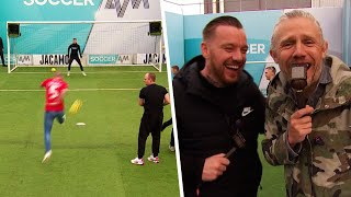 Charlton fans take on the Volley Challenge! | PLUS! Katie Taylor and Jamie O'Hara ⚽⚡