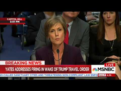 Cornyn uses Flynn hearing to grill Yates about Trump