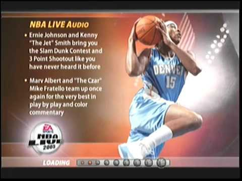NBA Live 2005 Original Xbox Gameplay