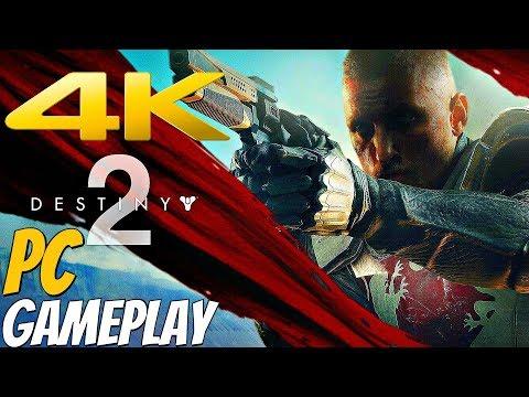 DESTINY 2 PC - Gameplay Walkthrough Part 1 - Homecoming [4K 60FPS ULTRA]