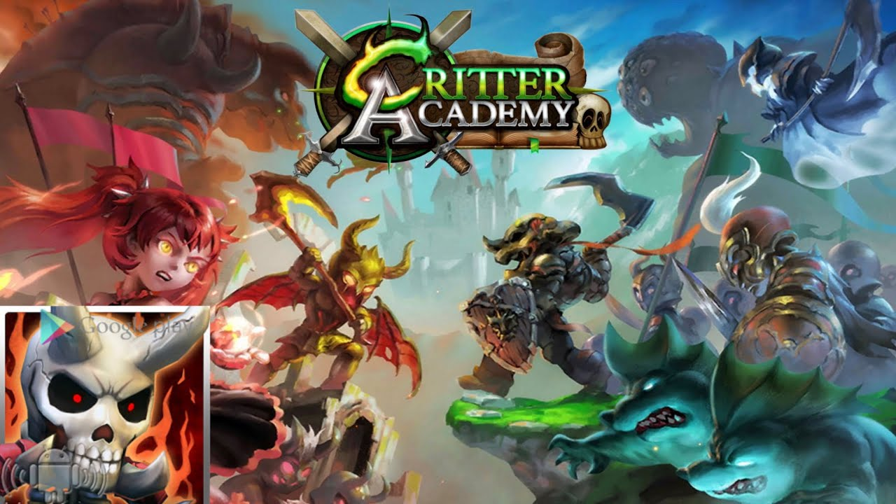 Critter Academy By Spicy Pony Games Iosandroid Youtube