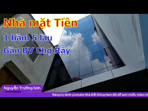 Livestream Bán nhà mặt tiền Quận 5, xây mới 1 hầm 1 trệt 5 lầu, gần Bệnh viện Chợ Rẫy