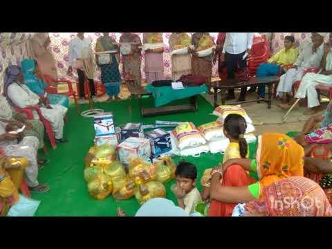 Maa Ganga Jan Kalyan trust ki taraf Gaon Bappa jila Sirsa Mein garibo ko sahyta da Badal Soni