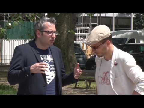 Treffen mit Benjamin Ludwig (Hoppla G) & Pierre Kretz