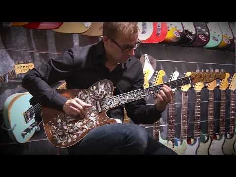 Download Youtube: Birdflower Telecaster - The world's most expensive Fender Custom Shop guitar