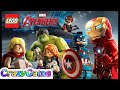 LEGO MARVEL's Avengers and Age of Ultron Full Game Movie - LEGO Movie Cartoon for Children & Kids