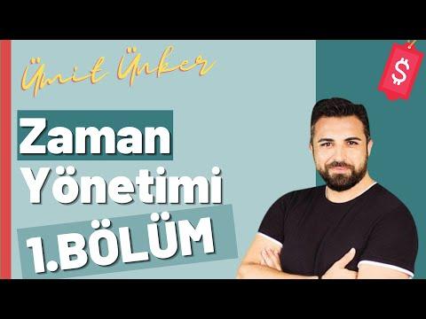 """""""Etkili Zaman Yönetimi"""" eğitim video serisi 1"""