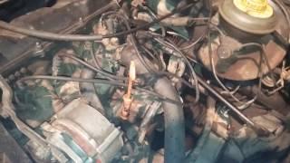 Замена моторного масла Audi80 1.8л