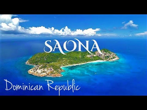 SAONA - BOUNTY island from amigo Pedrito Pearl Dominican Republic -  GoPro Full HD