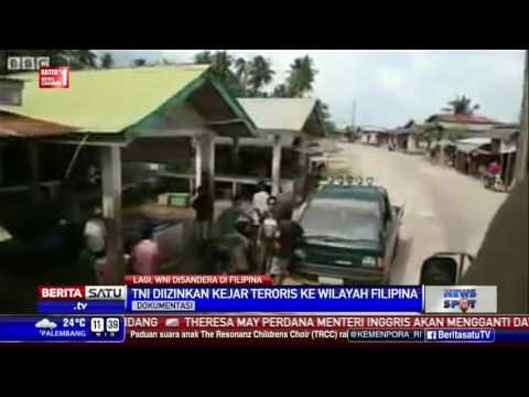 Filipina Izinkan TNI Kejar Abu Sayyaf di Wilayahnya