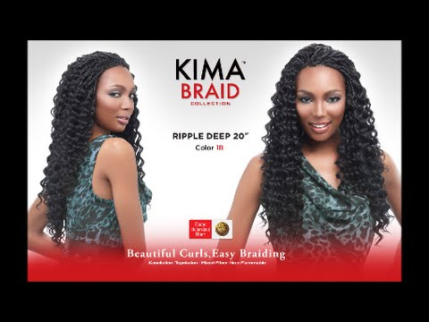 KIMA BRAID by Harlem 125 reviewBrazillian twist - Deep Wave Hairstyles