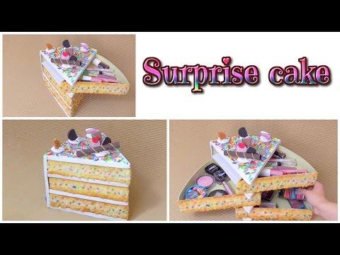 Kawaii Cake Organizer Box Diy Isa ️ Youtube