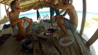 Curacao surfing video