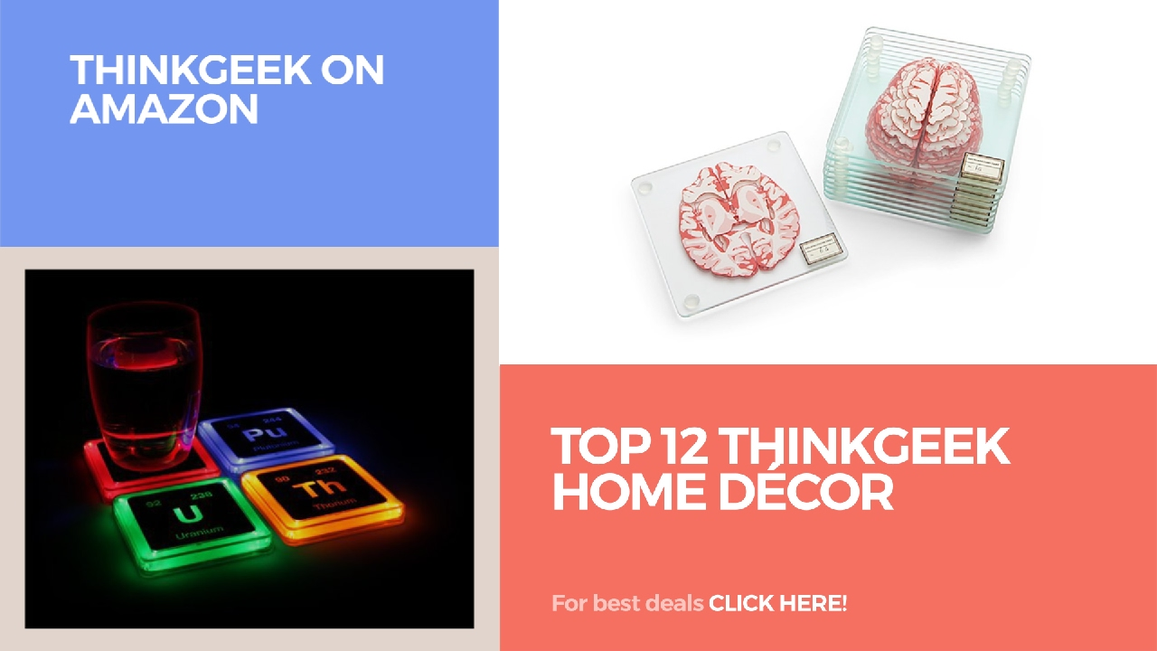top 12 thinkgeek home décor thinkgeek on amazon youtube
