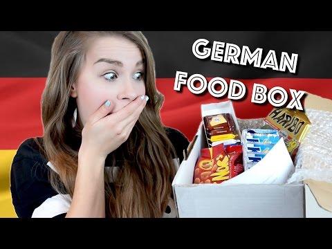 German FOOD! Unboxing & testing my Little German Box!