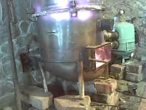 Котел Карбо на твердом топливе в Кишиневе, 4Elements - YouTube