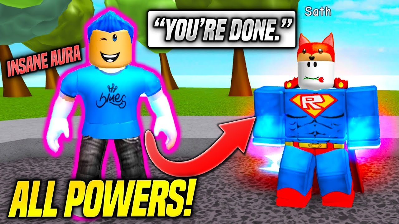 I UNLOCKED ALL THE POWERS IN SUPER POWER TRAINING SIMULATOR! *INSANE*  (Roblox)