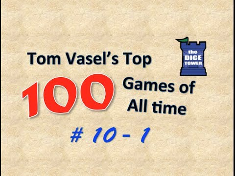 Tom Vasels Top 100 Games of all Time: # 10 - # 1