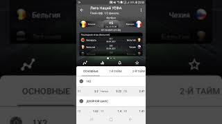 Прогноз на футбол Бельгия Франция