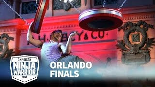 Drew Drechsel at 2015 Orlando Finals | American Ninja Warrior