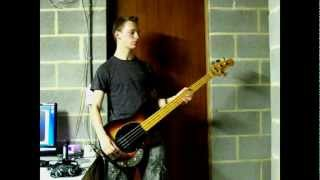 Bass cover of Spaz
