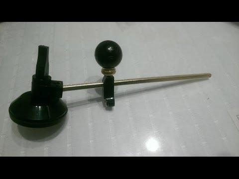 Циркуль-стеклорез на присоске. Посылка из Китая.