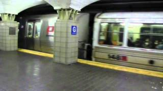 PA NY/NJ: Journal Square and Manhattan Bound PA1 thru PA5 PATH trains at Grove Street
