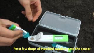 Nitrate meter LAQUAtwin B-743 - plant sap testing