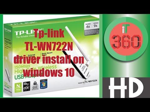 драйвер tl-wn722n windows 10