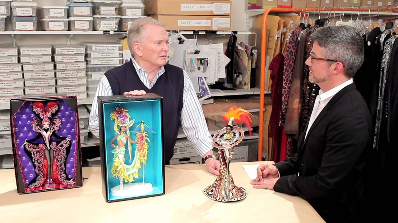 Barbie Collector Interview With Bob Mackie Youtube