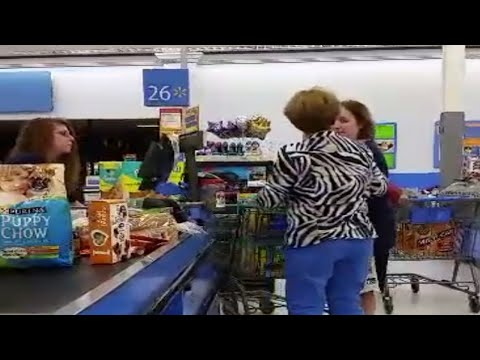 Woman Pushes Into Walmart Line, Conversation Has Mom In Tears