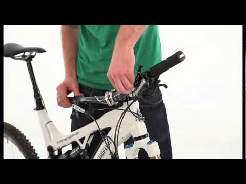 How To Rockshox Reverb Hose Trim And Bleed Youtube