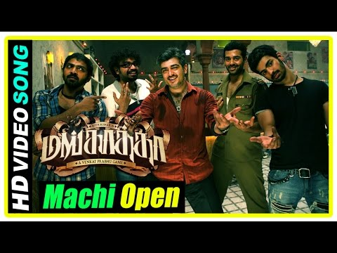 Machi Open The Bottle Video Song | Mankatha Tamil Movie | Arjun investigates the case | Ajith