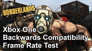 Borderlands Xbox 360 vs Xbox One Frame Rate Test (Backwards Compability Beta)