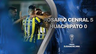 Rosario Central vs. Huachipato [5-0]   RESUMEN   Fecha 5   CONMEBOL Sudamericana 2021